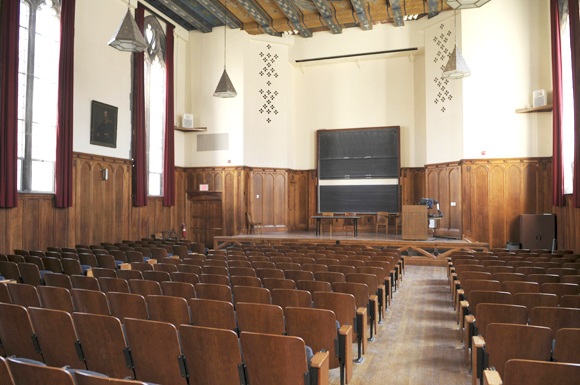 Auditoriums Filming At Yale University