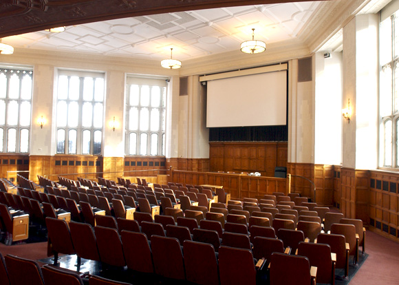 Lecture Halls Filming At Yale University